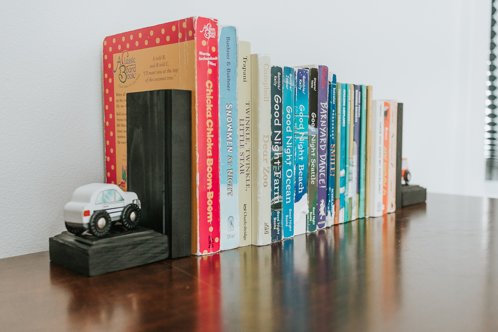 DIY Wooden Bookends