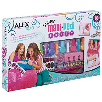 ALEX Spa Super Mani Pedi Party Kit