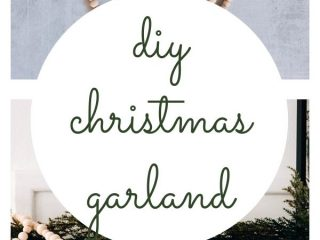DIY: Simple Christmas Tree Beaded Garland - This tutorial will show you how to make a pretty Christmas tree beaded garland. And you can make this in about ten minutes and for less than $10. Ready to get started?