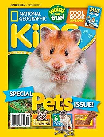 National Geographic Kids Print Magazine