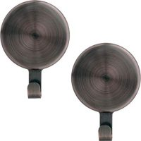 Attract Magnetic Wreath Hanger 2-Pc Set, Oil-Rubbed Bronze