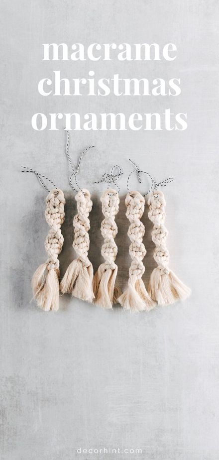 15 Macrame Projects for the Beginner - Check out these super easy macrame projects for the beginner. You can complete them in a weekend and make something totally unique for your home.