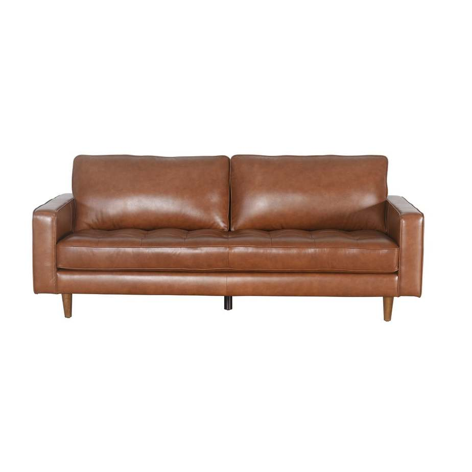 Abbyson Leather sofa from Overstock