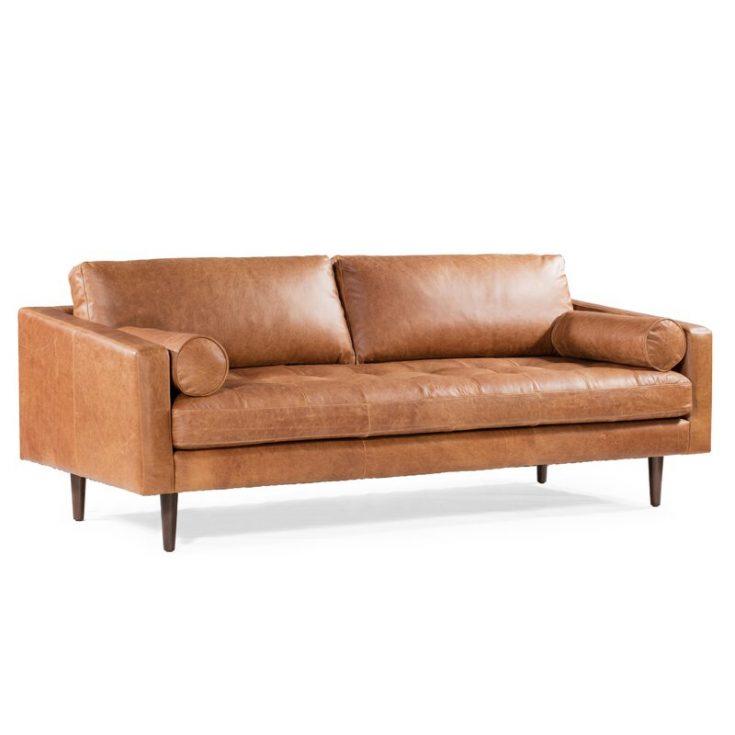 Kate Leather Sofa