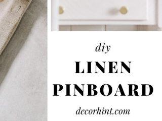 DIY Pinboard Linen - Pinterest
