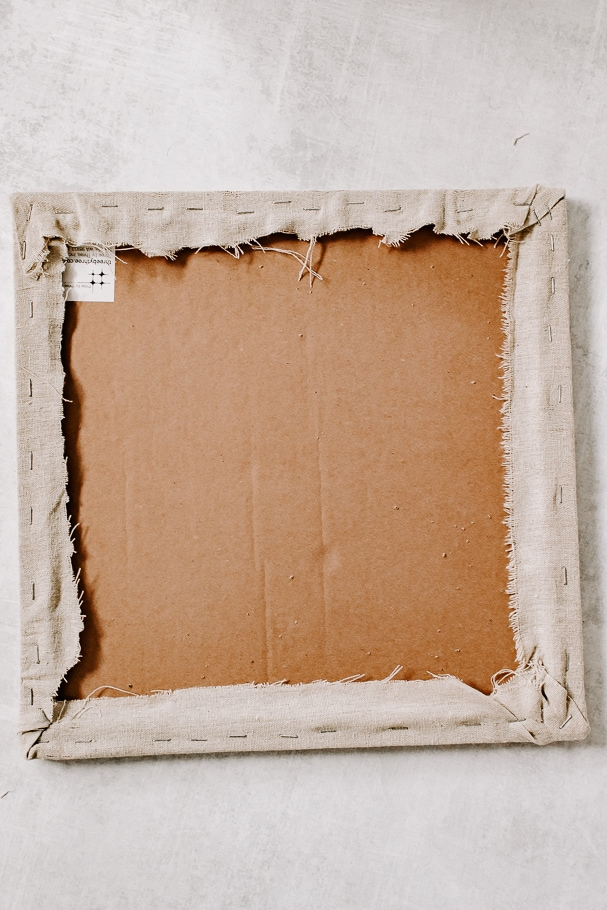 fabric staples to corkboard