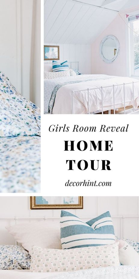 Girls Room Home Tour - Before and After Reveal