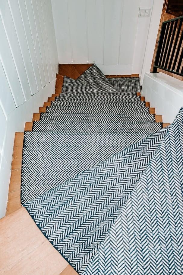 blue annie selke stair runner