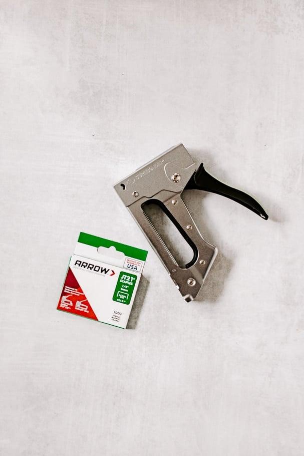 staples and staple gun