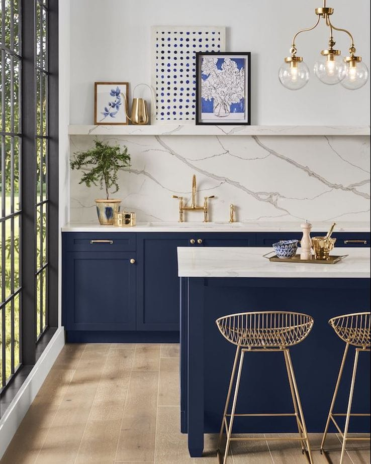 Navy Blue - Design Trends 2020