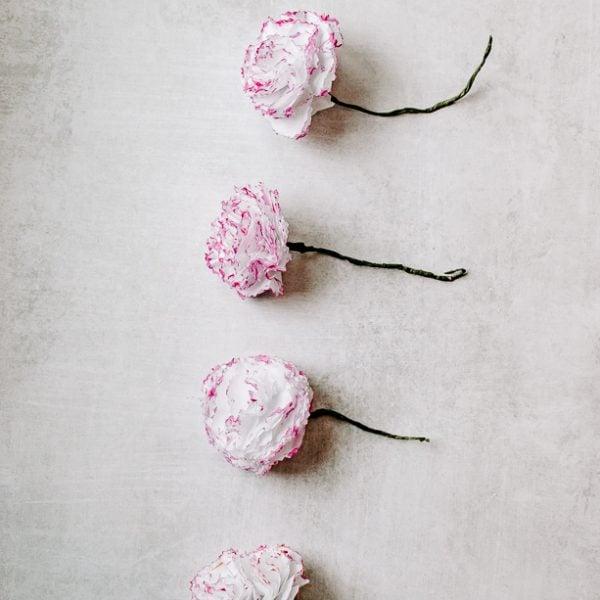 paper carnations tutorial
