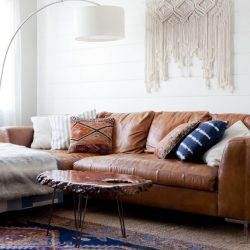 best affordable leather couches