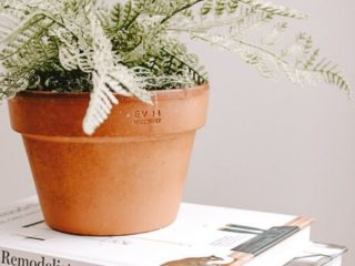 how to pot a faux plant and make it look real