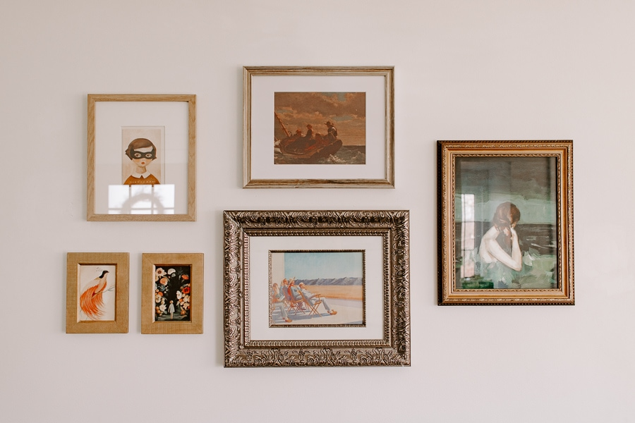 cheap gallery wall how to