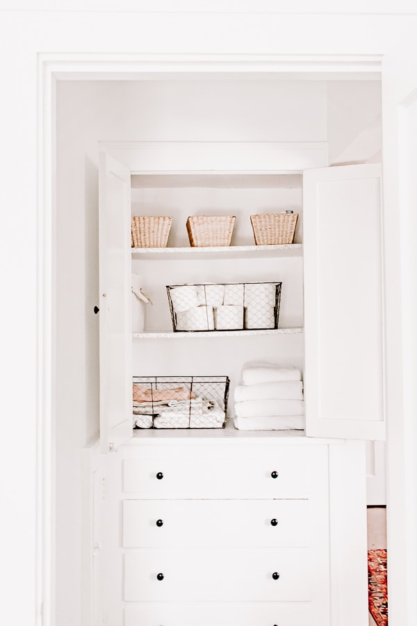 Small Linen closet ideas