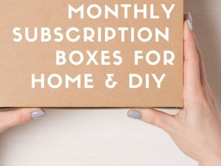 best home and diy subscription boxes