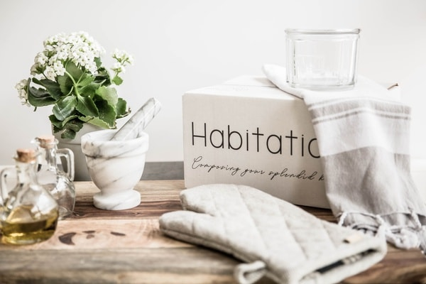 habitation box, a home decor subscription box