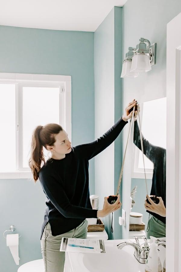 Measure your mirror