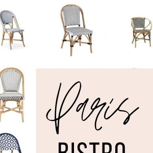 paris bistro chair finds