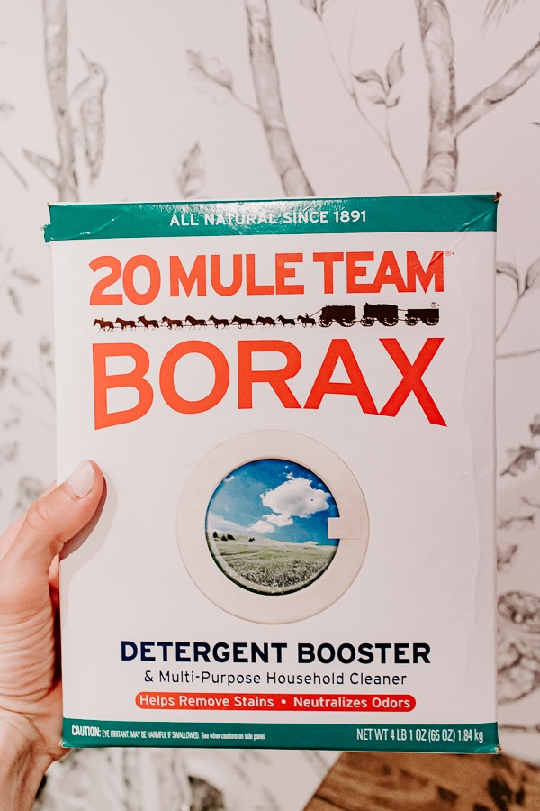 Borax for smelly towels