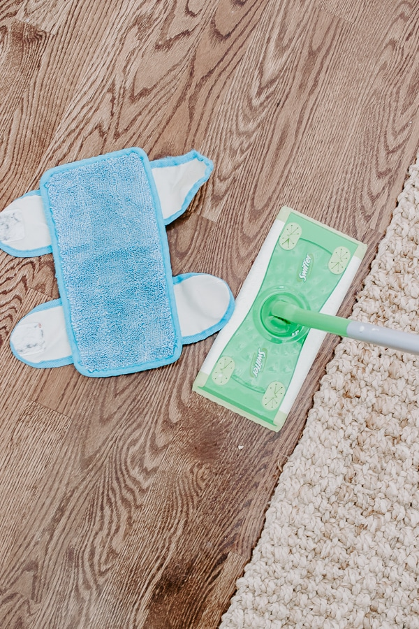 Microfiber Mop Pads that Fit on your Swiffer!