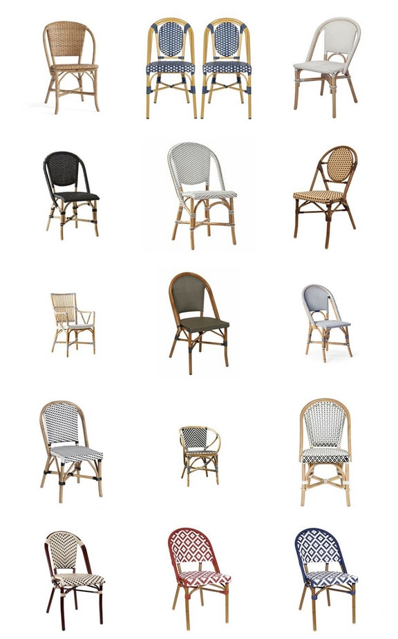 the best paris bistro chairs for your home today