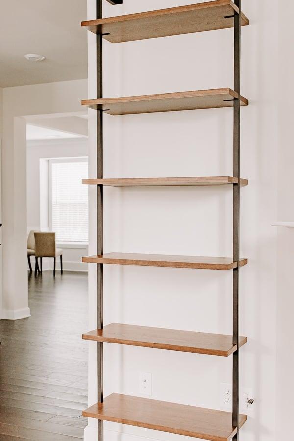 blank etagere bookcase