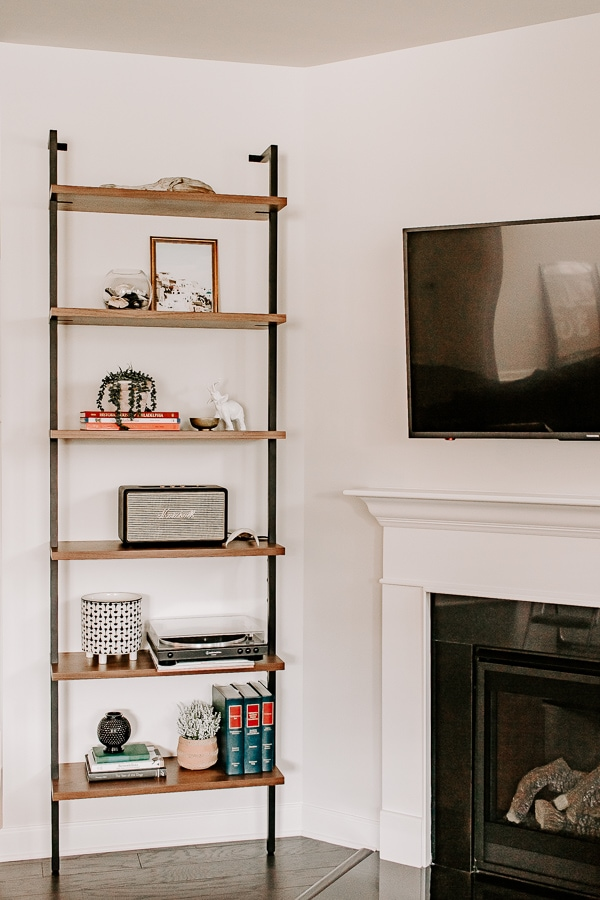how to decorate an etagere bookcase - tips and tricks for arranging items like a pro
