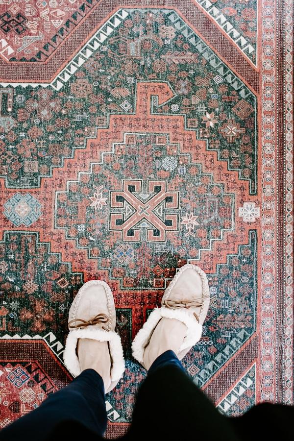 machine washable foyer rug