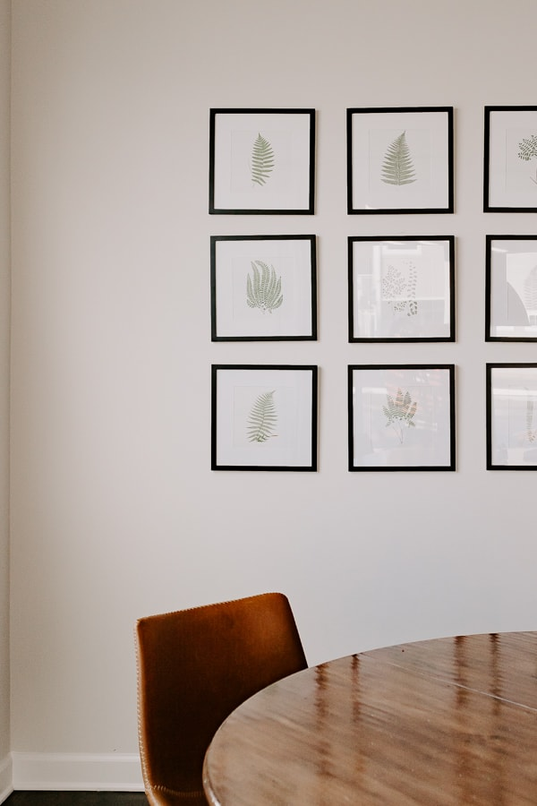 Free Botanical Prints for an Easy Gallery Wall - Free Botanical Prints.  You can print these at home and frame in a gallery wall - decorating doesn't get any easier!