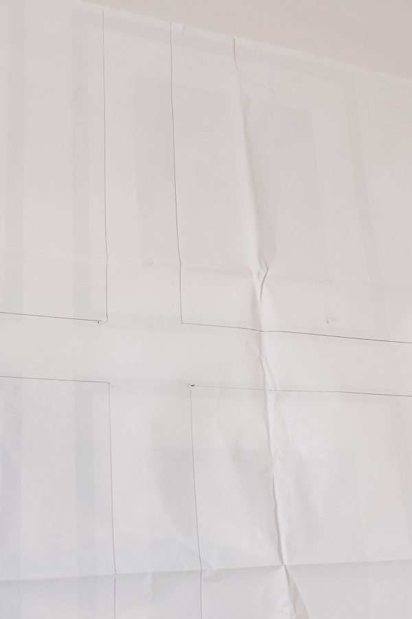 gallery wall paper template