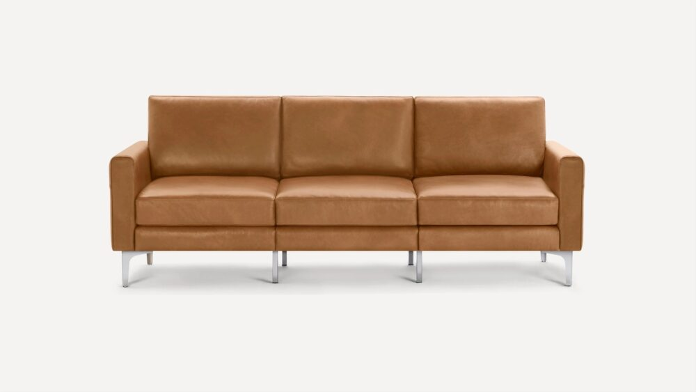 Nomad Leather Sofa - affordable Leather Couches
