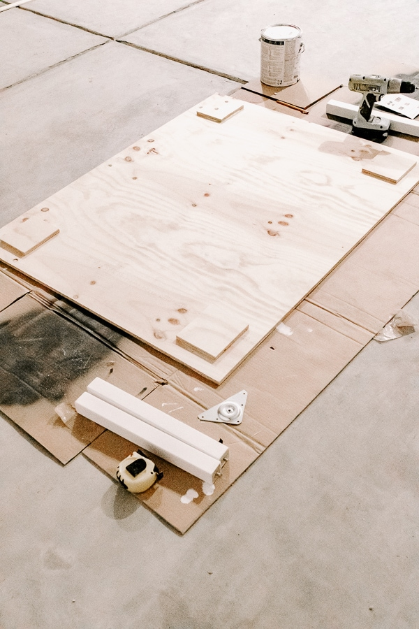 plywood table top for kids table