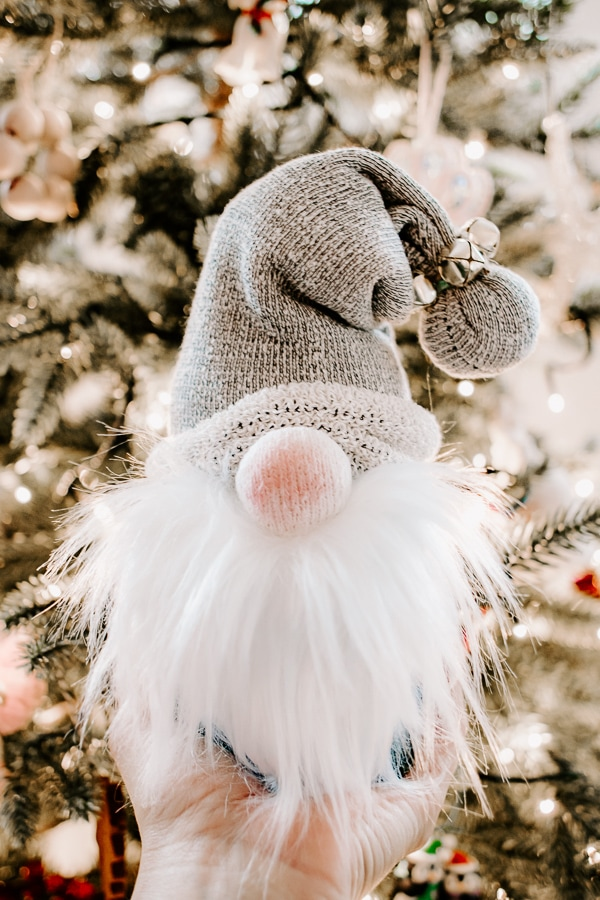 DIY Christmas Gnomes - easy tutorial for making Scandinavian styled holiday gnomes