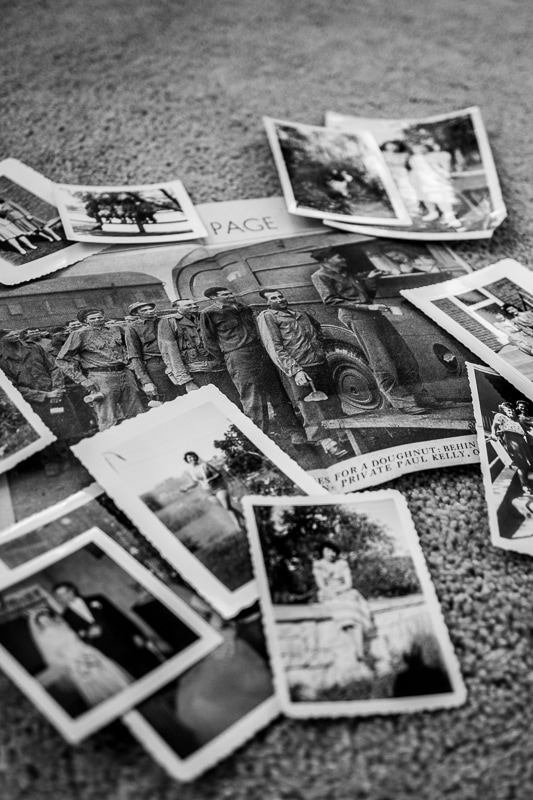 a collection of old photos in black and white