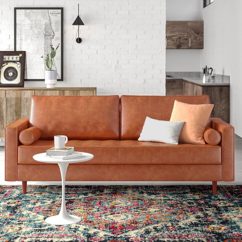 11 Affordable Leather Couches (2021) - Are you looking for a leather couch that won't break the bank?