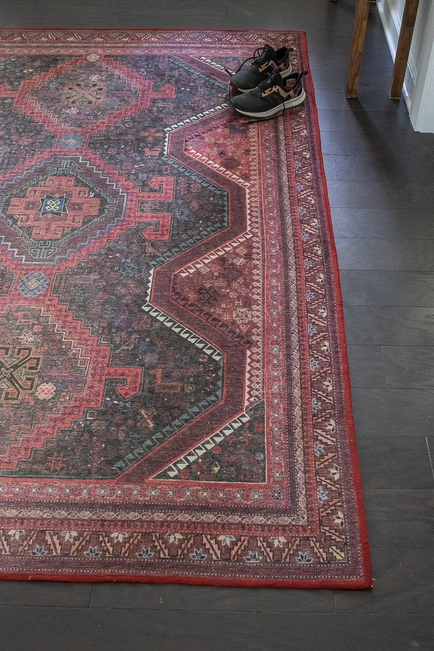 Red Ruggable Rug