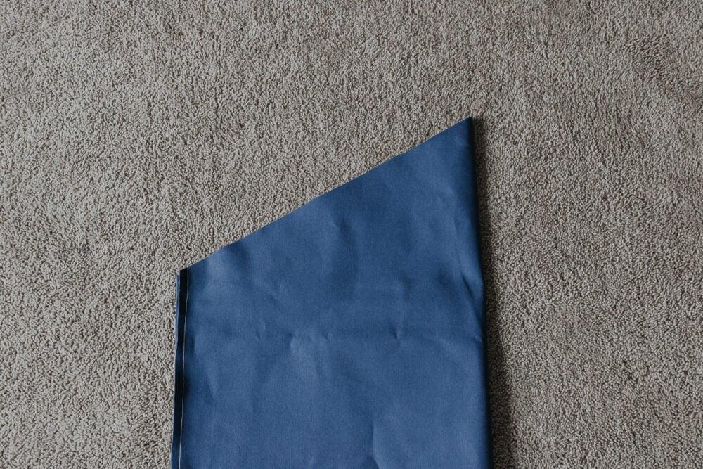 how to make a bean bag chair - step by step