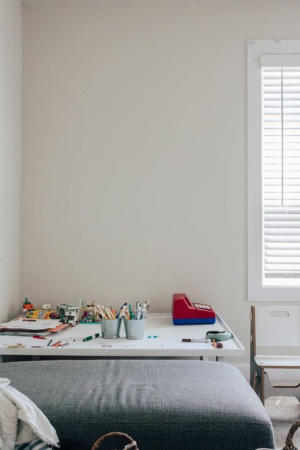 One Room Challenge Playroom Before