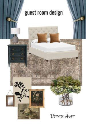 how to make a mood board for interior design - get the full tutorial in post plus some handy tips and tricks.