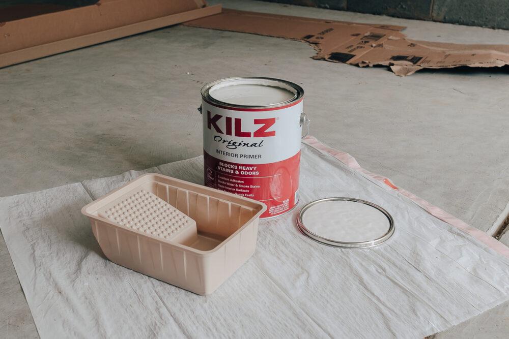 Kilz primer for priming furniture