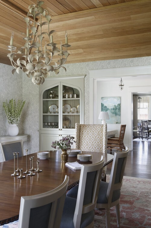 cottage core dining room
