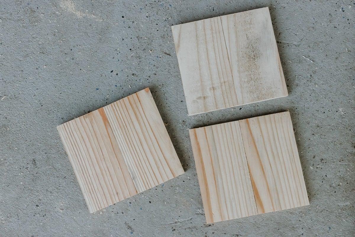 bases for DIY Wood Lanterns
