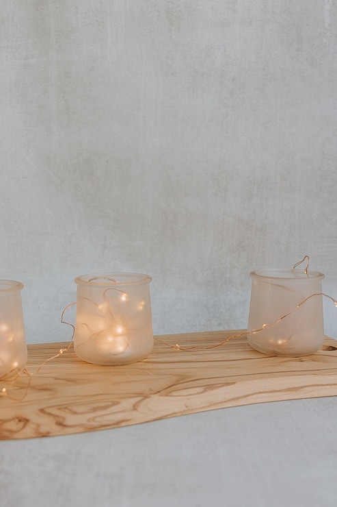 DIY Candle Holders - Frosted - Full Tutorial at Pretty Handy Girl!