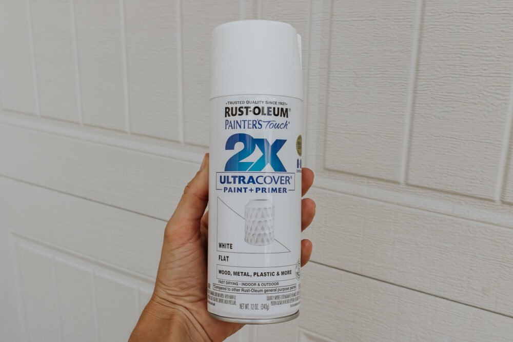 rustoleum painters touch 2x paint and primer - how to paint plastic planters