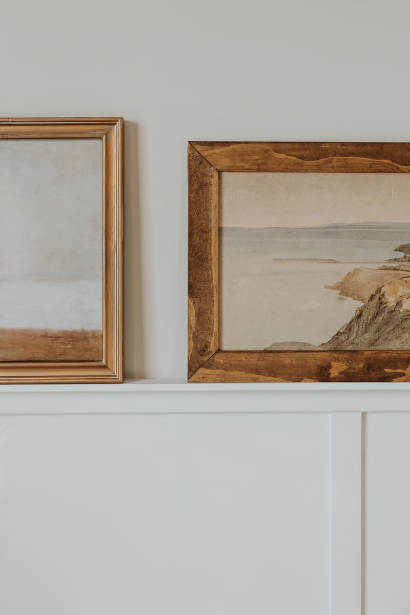 Long Landscape Paintings - see how to frame them yourself in post!