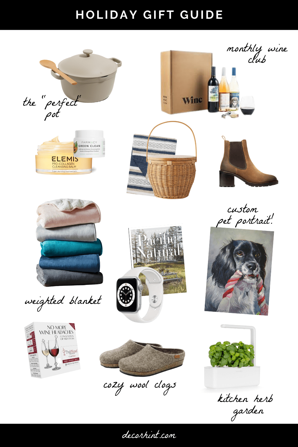 My Christmas Wishlist - unique holiday gift ideas for your friends and family.