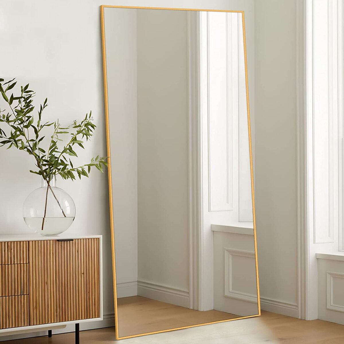A roundup of the best oversized floor mirrors on the market today!