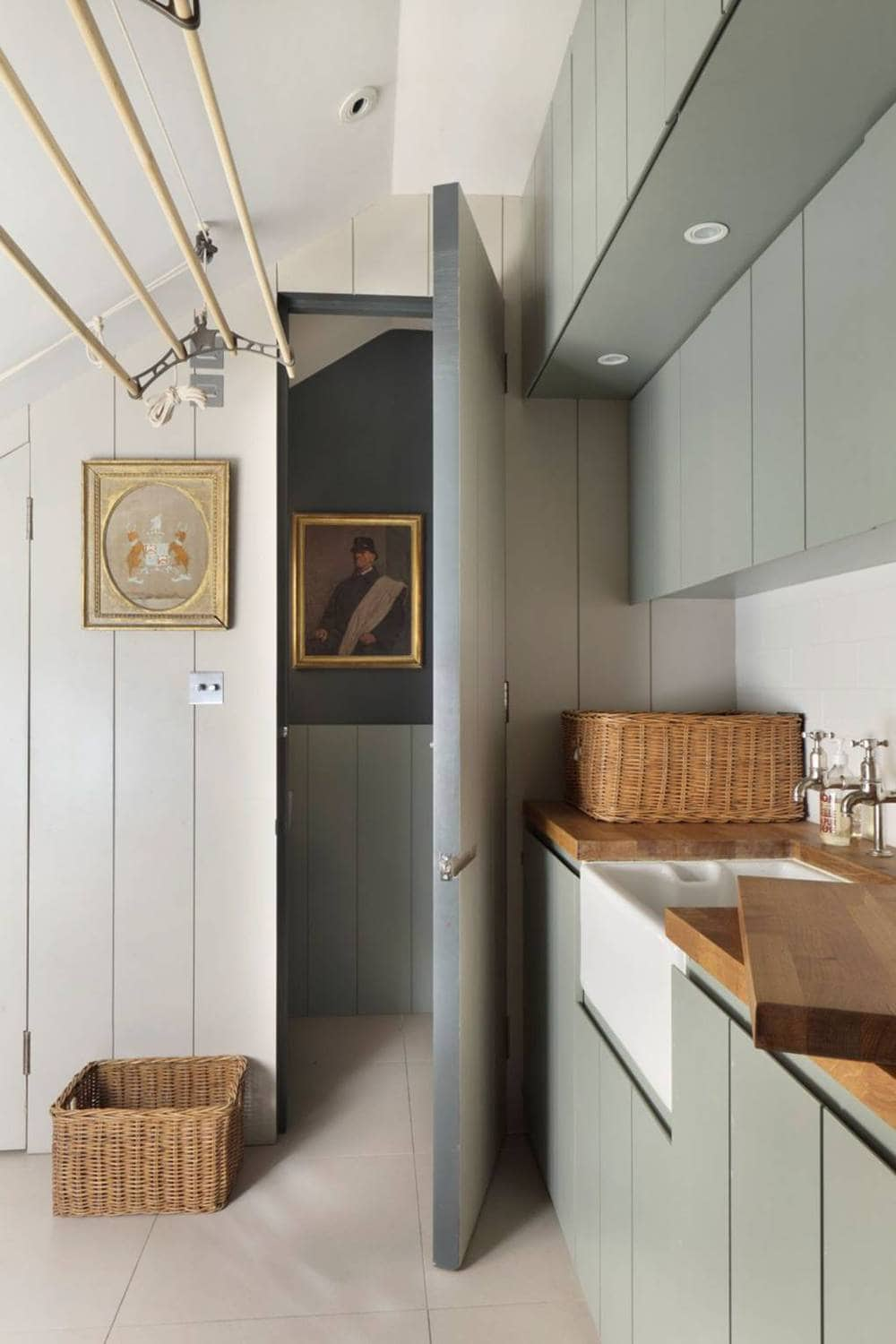 laundry room moodboard - moody utility for inspiration