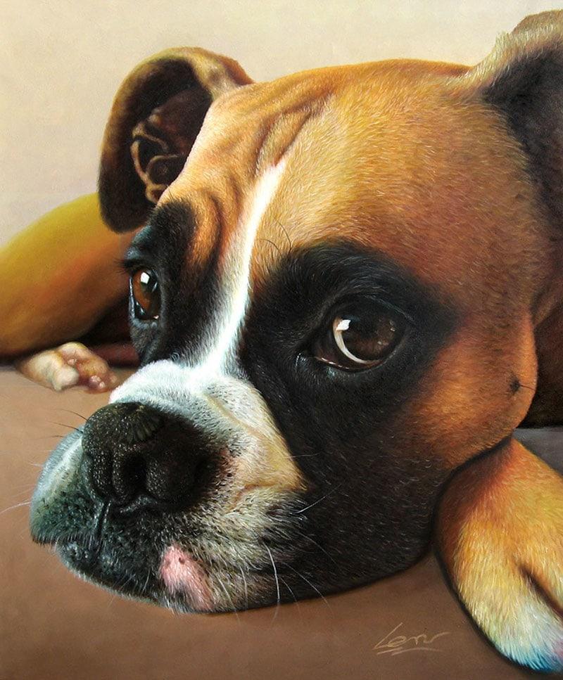 paint your life pet portrait - my christmas wish list